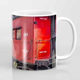 Red Caboose Tilton New Hampshire Coffee Mug