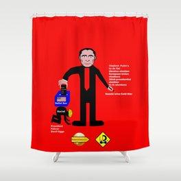Vladimir Putin Decides Day Shower Curtain