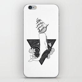 Whale Wreck iPhone Skin