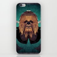 chewbacca iPhone & iPod Skins featuring Chewbacca by lazylaves
