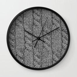 Knitting_031_by_JAMFoto Wall Clock