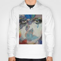 gothic Hoodies featuring Gothic Butterflies by Michael Creese