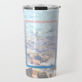crash waves Travel Mug