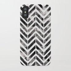 Brush Chevron Slim Case iPhone X