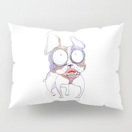 cartoon watercolor dog Pillow Sham