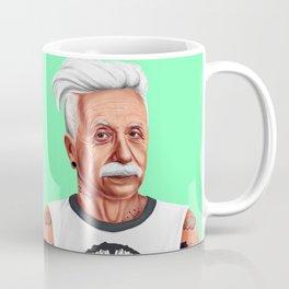 Hipstory -  Albert Einstein Coffee Mug