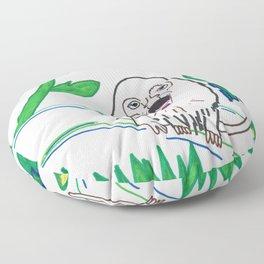 El Grito De La Jungla! Floor Pillow