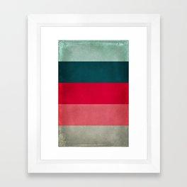 New York City Hues Framed Art Print