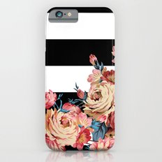 Floral Stripe iPhone 6 Slim Case
