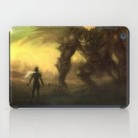 war iPad Cases featuring War  by leonardoariza