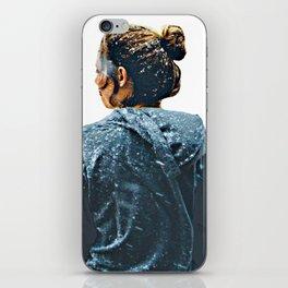 snow girl iPhone Skin