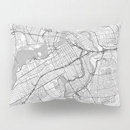 Ottawa Map Line Pillow Sham