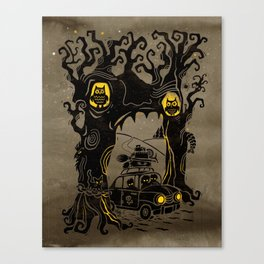Trip to Enchanted Forest Canvas Print