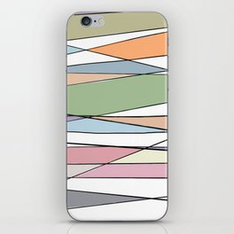 Intersecting Lines iPhone Skin
