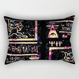 ancient mew Rectangular Pillow