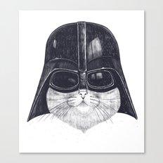Darth Cat Canvas Print