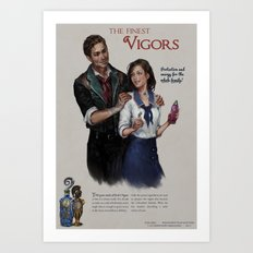 Infinite Vigor Poster Art Print