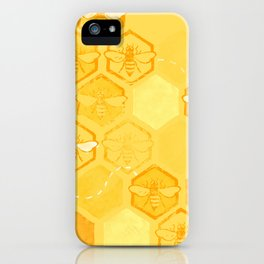 Dance of Bees iPhone Case