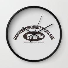 Harverd Cummunity Collage Wall Clock