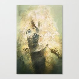 Lovecraft Fish Canvas Print