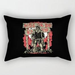 Kill Or Be Killed Rectangular Pillow