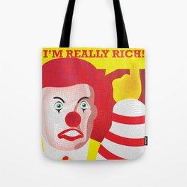 Mc Donald Trump Tote Bag