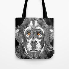 Black And White Art - Monkey Business 2 - By Sharon Cummings Tote Bag