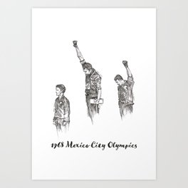 1968 Mexico Olympics Art Print