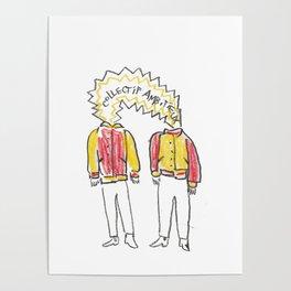 Ambitieux en varsity jacket Poster