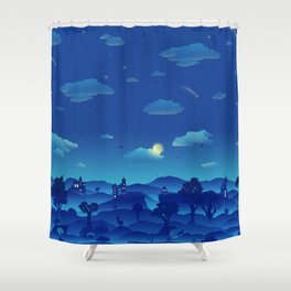 Fairytale Dreamscape Shower Curtain
