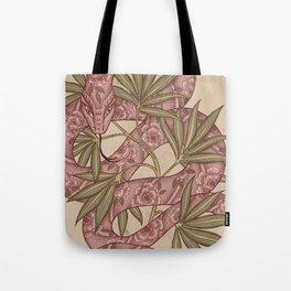 The snake Tote Bag
