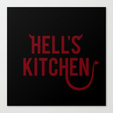 Devil of Hell's Kitchen Canvas Print