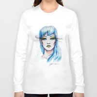 """chinese Long Sleeve T-shirts featuring """"chinese peacock"""" by PeeGeeArts"""