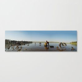 ethiopian fishing boy  Canvas Print