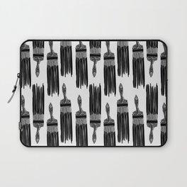 The Old Minimalistic Paint Brush Laptop Sleeve