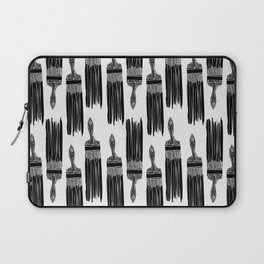 The Old Minimalistic Paint Brush Laptop Sleeve