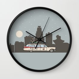 Ghostbusters Ecto-1 Wall Clock