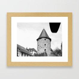 Dicker Turm Baumholder Germany Framed Art Print