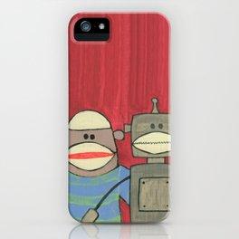 Sock Monkey 221 iPhone Case