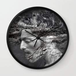 Sea man Wall Clock