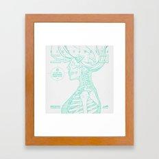 Sketch-Electro-B Framed Art Print