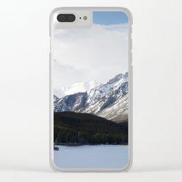 Vermilion Lakes Clear iPhone Case