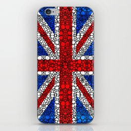 British Flag - Brittain England Stone Rock'd Art iPhone Skin