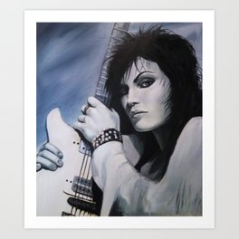 Joan Jett Art Print