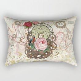 Romantic Steampunk Rectangular Pillow