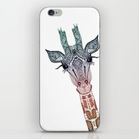 samsung iPhone & iPod Skins featuring GiRAFFE by Monika Strigel®