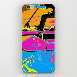 High-Flyin' Scooter Champ iPhone Skin