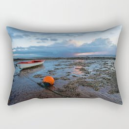 Distant rain Rectangular Pillow