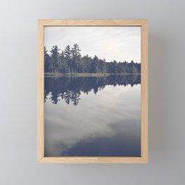 Little loch Framed Mini Art Print
