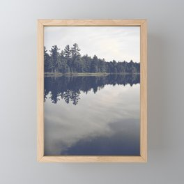 Little loch Framed Mini Art Print